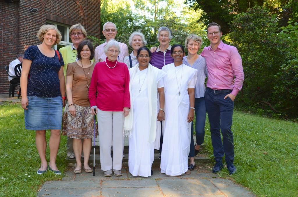 LIFT Gruppenbild mit Schwestern im Mai 2017
