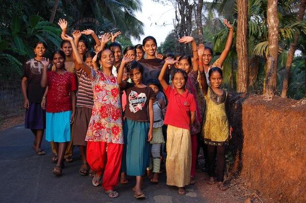 Mädchen in Anugraha