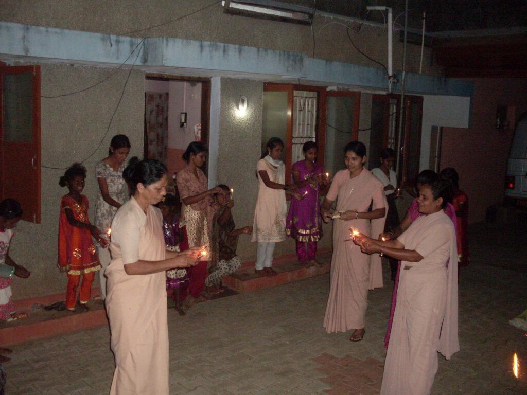 Diwali in Shanti Dhama