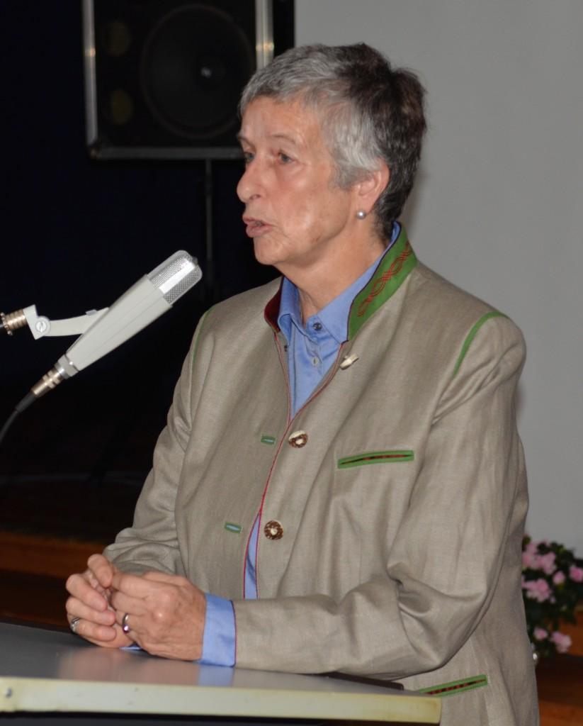 Gabriele Venzky spricht über die Situation der Mädchen in Indien.