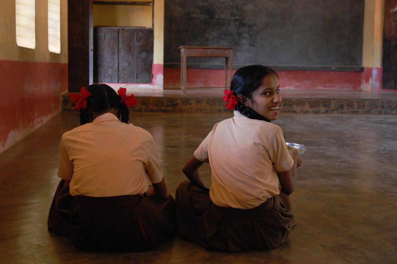 Zehntklässlerinnen aus Anugraha