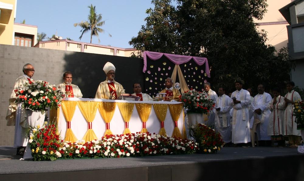 Festgottesdienst mit dem Bischof von Bombay