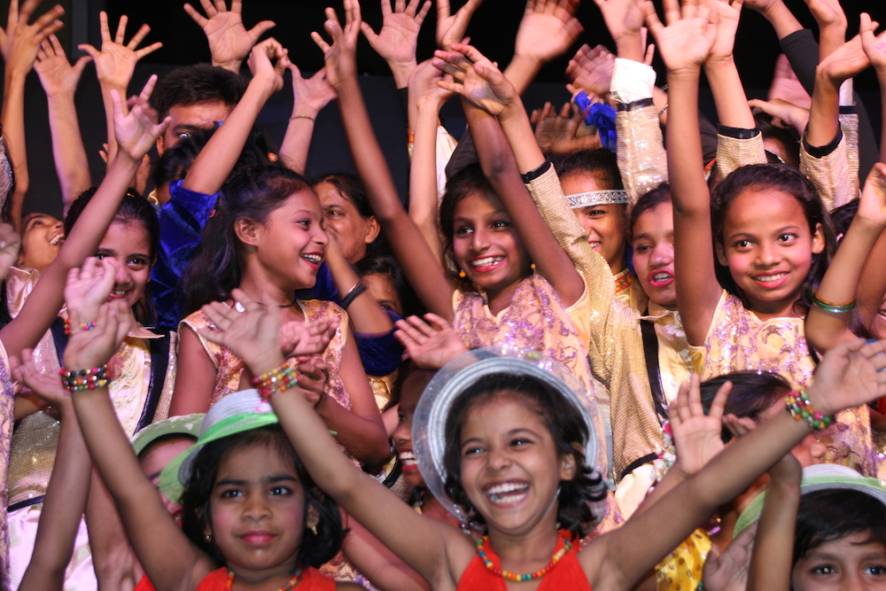 Das Musical wurde von rund 200 Mädchen und Novizinnen aufgeführt.