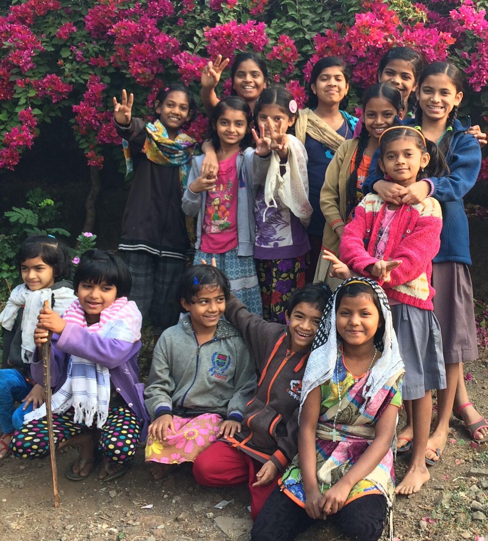 Mädchen in Balwatika