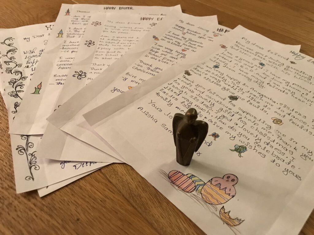 Briefe zu Ostern aus Anugraha