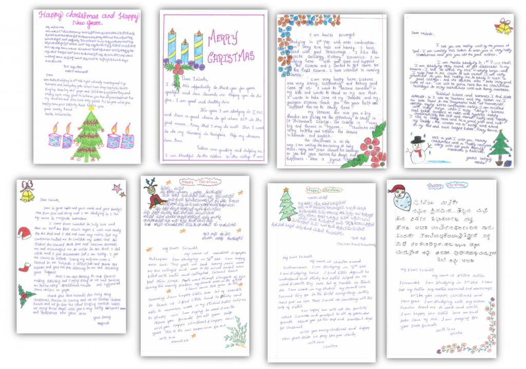 Weihnachtsbriefe aus den LIFT Heimen 2019